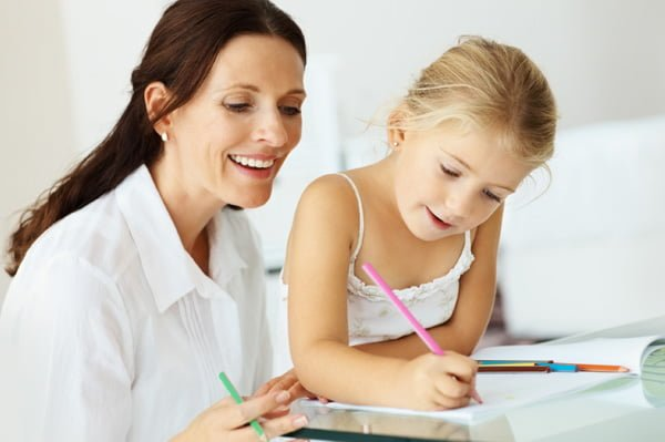 four-year-old-girl-with-tutor
